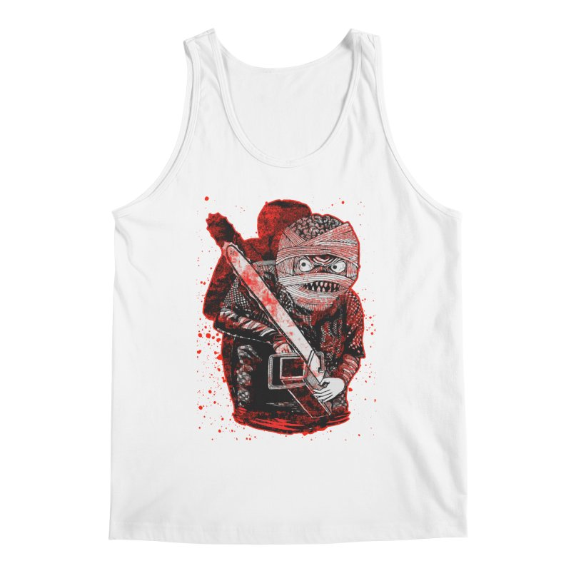 Chainsaw Mummy Men's Tank by miskel's Shop