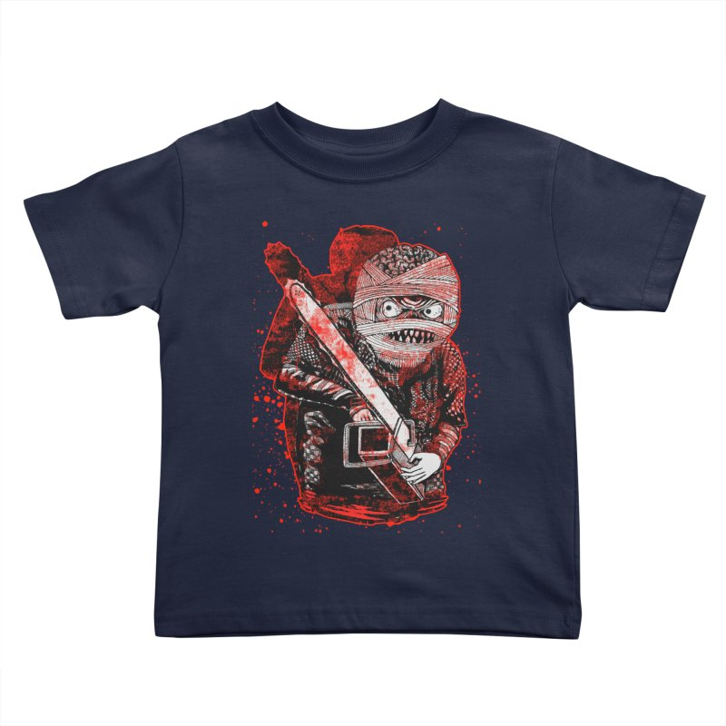 Chainsaw Mummy Kids Toddler T-Shirt by miskel's Shop
