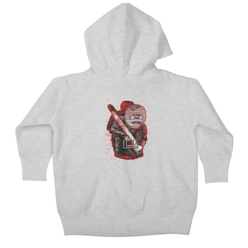 Chainsaw Mummy Kids Baby Zip-Up Hoody by miskel's Shop
