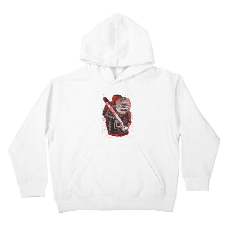 Chainsaw Mummy Kids Pullover Hoody by miskel's Shop