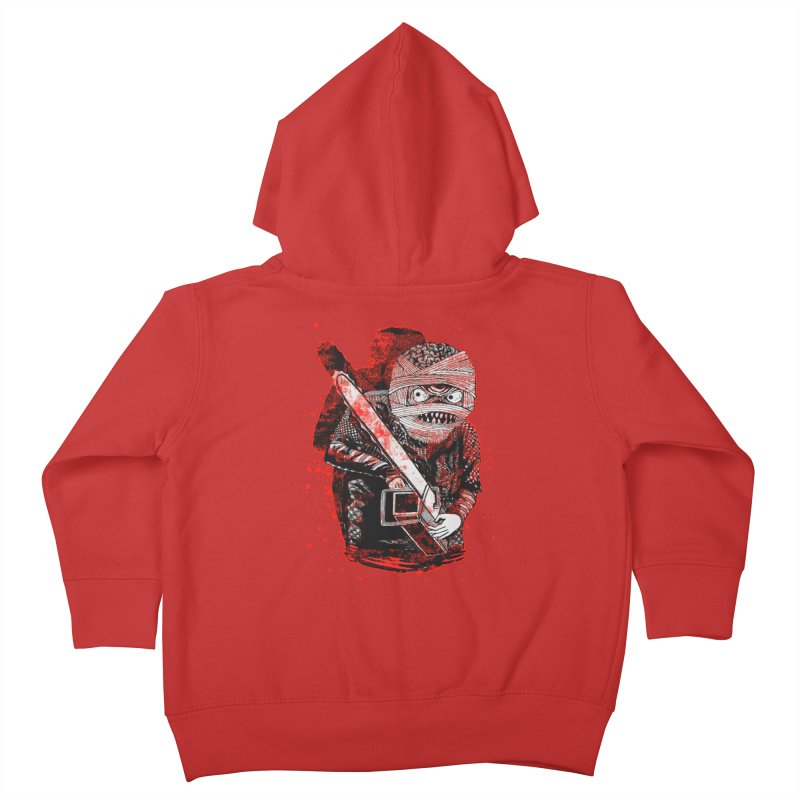Chainsaw Mummy Kids Toddler Zip-Up Hoody by miskel's Shop
