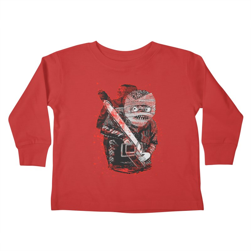 Chainsaw Mummy Kids Toddler Longsleeve T-Shirt by miskel's Shop