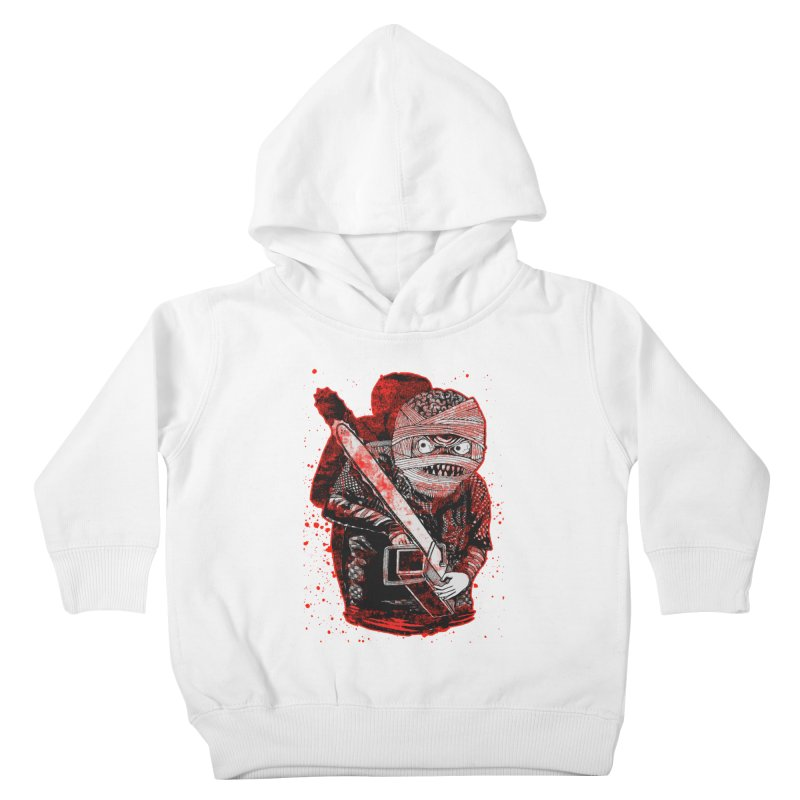 Chainsaw Mummy Kids Toddler Pullover Hoody by miskel's Shop