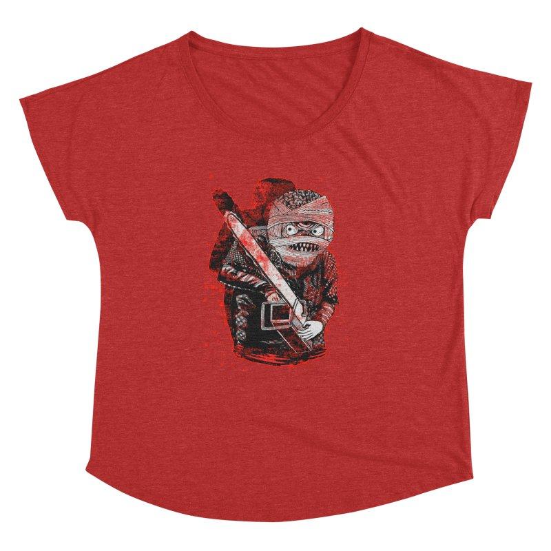 Chainsaw Mummy Women's Dolman Scoop Neck by miskel's Shop
