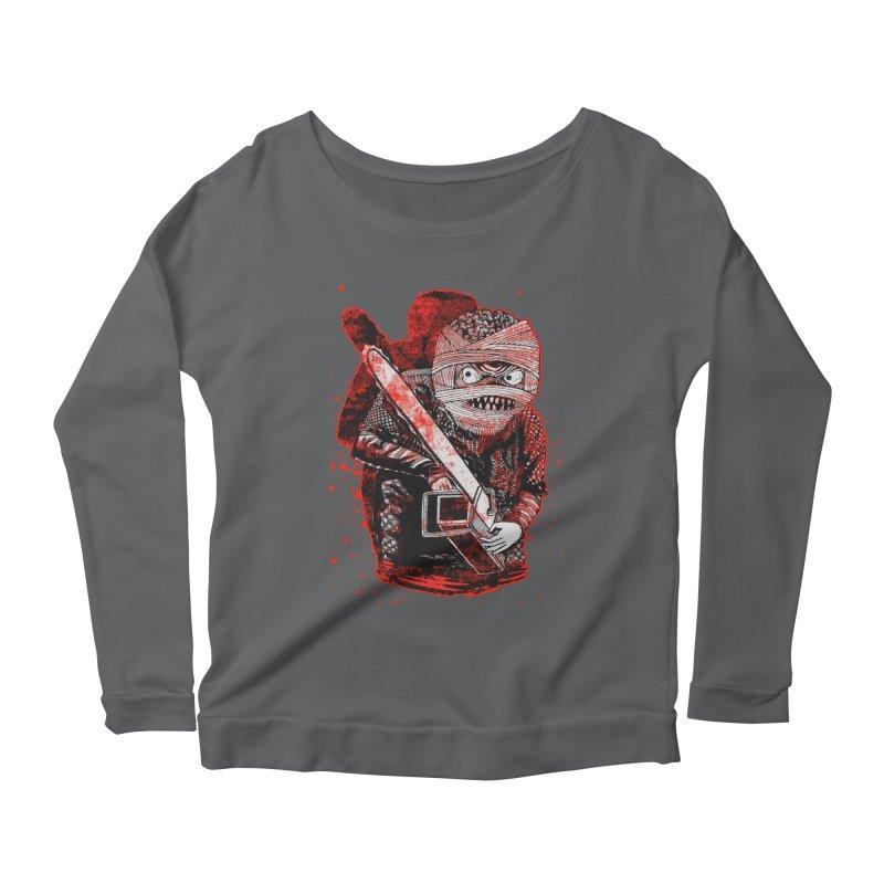 Chainsaw Mummy Women's Scoop Neck Longsleeve T-Shirt by miskel's Shop