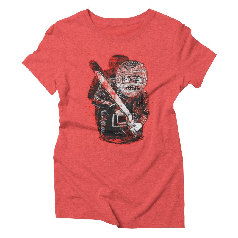 Chainsaw Mummy Women's Triblend T-shirt by miskel's Shop