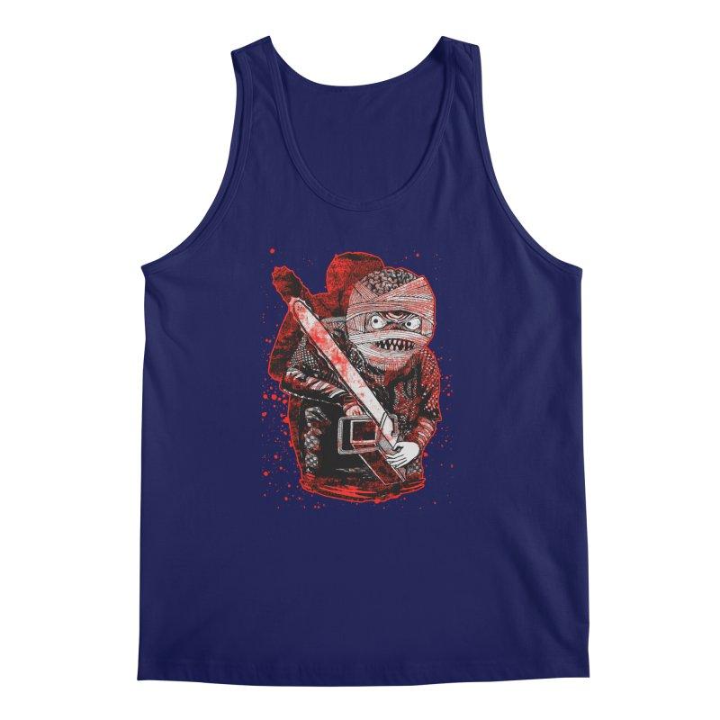 Chainsaw Mummy Men's Regular Tank by miskel's Shop