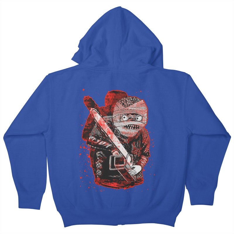 Chainsaw Mummy Kids Zip-Up Hoody by miskel's Shop