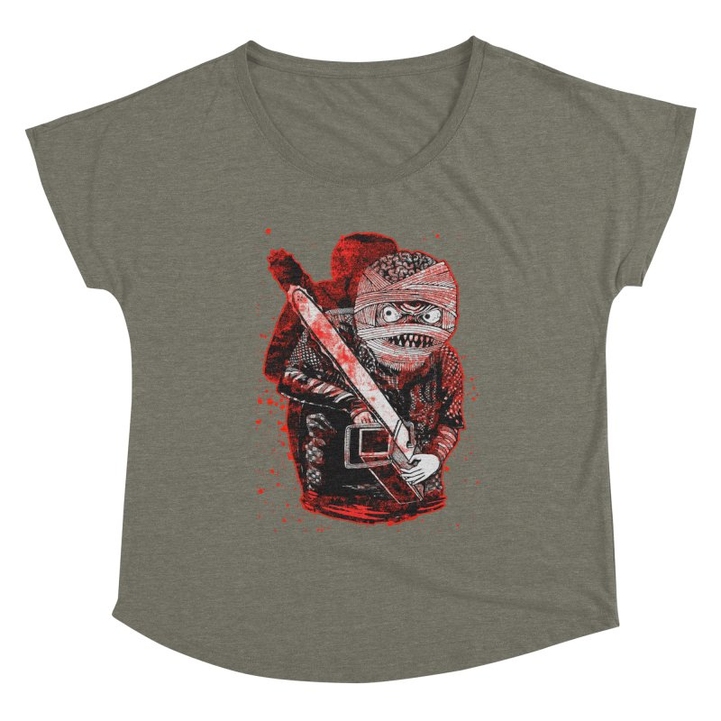 Chainsaw Mummy Women's Scoop Neck by miskel's Shop