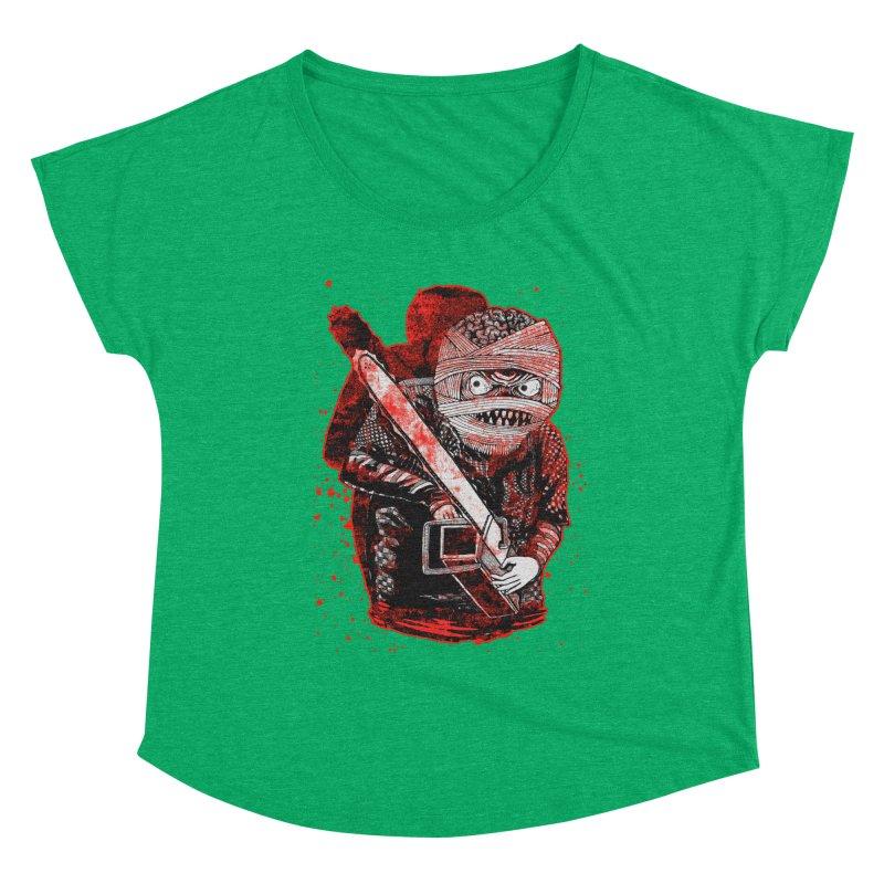 Chainsaw Mummy Women's Scoop Neck by miskel's Shop