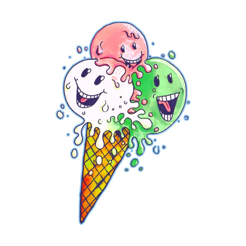 Ice Cream Tee by miskel's Shop