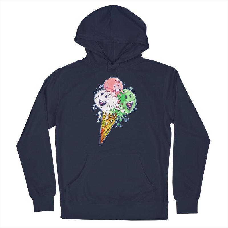 Ice Cream Tee Men's Pullover Hoody by miskel's Shop