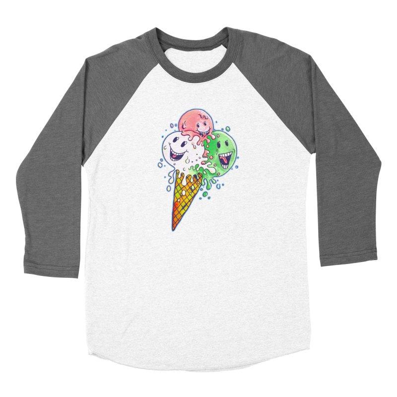 Ice Cream Tee Women's Longsleeve T-Shirt by miskel's Shop