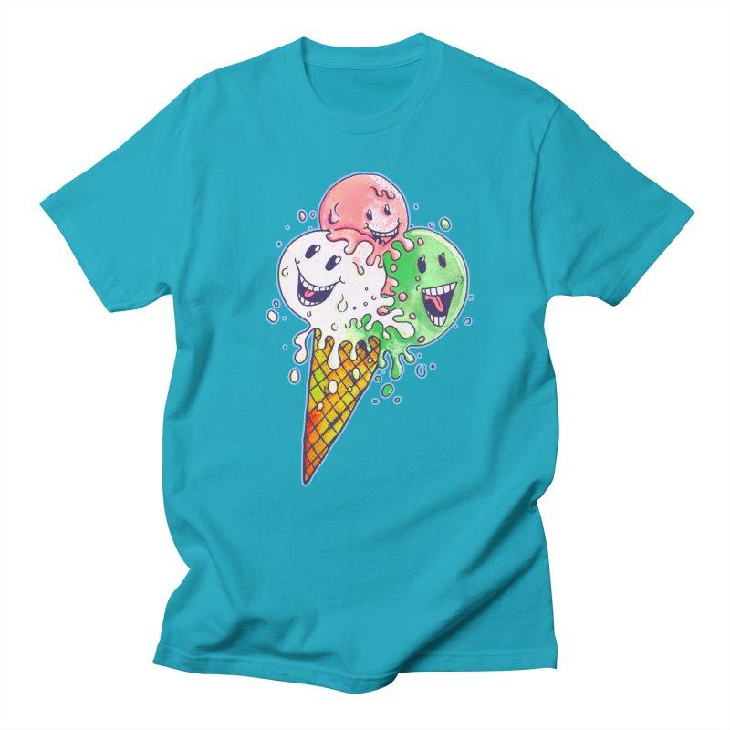 Ice Cream Tee Men's T-Shirt by miskel's Shop