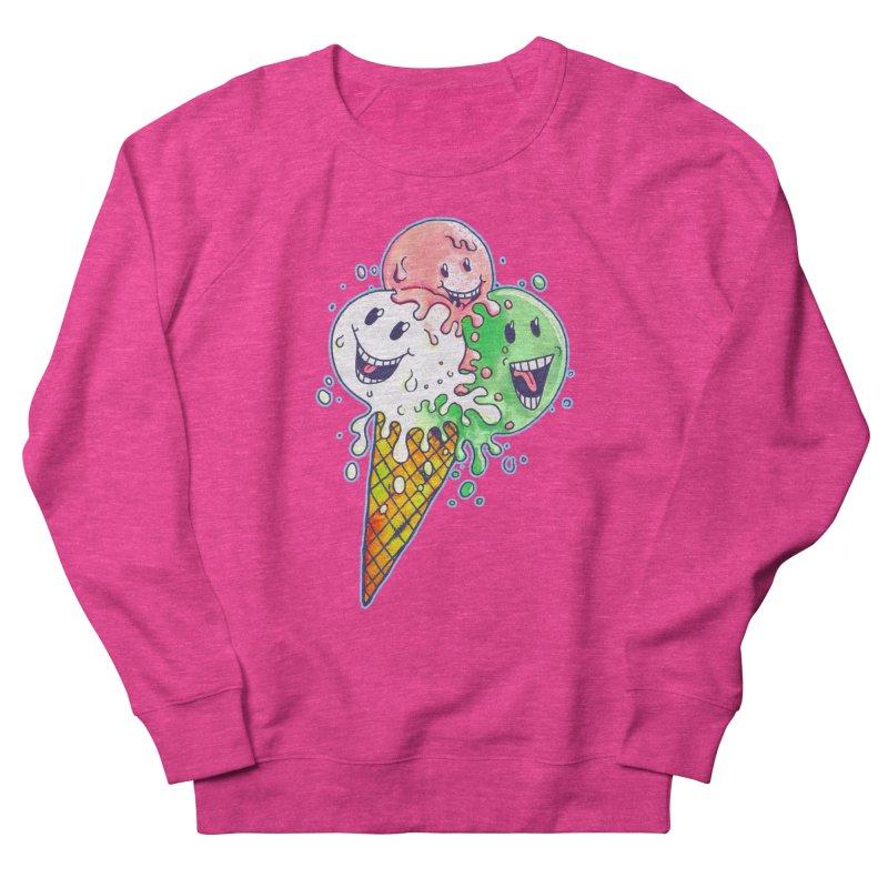Ice Cream Tee Men's French Terry Sweatshirt by miskel's Shop