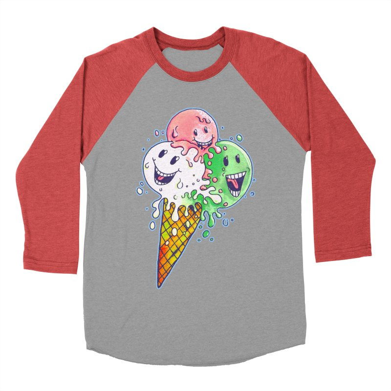 Ice Cream Tee Men's Longsleeve T-Shirt by miskel's Shop