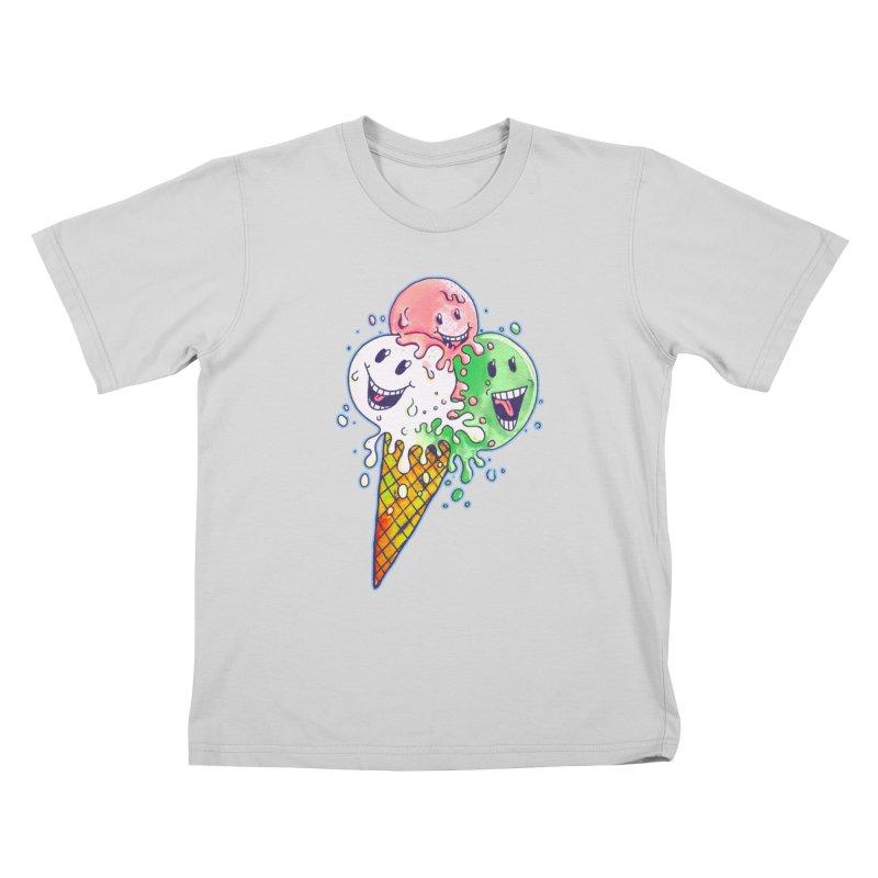 Ice Cream Tee Kids T-Shirt by miskel's Shop