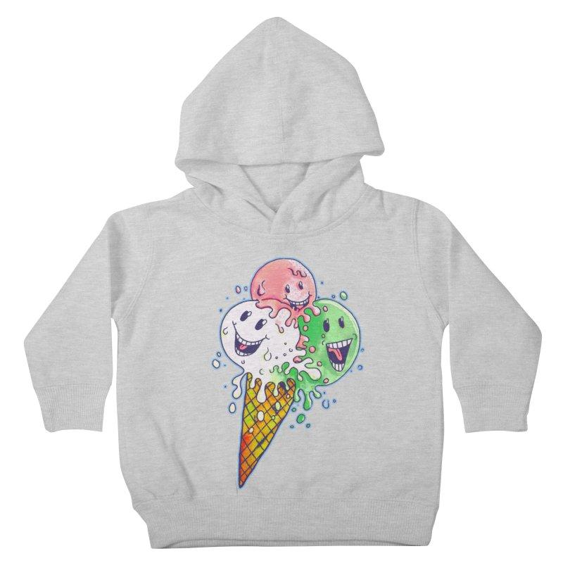 Ice Cream Tee Kids Toddler Pullover Hoody by miskel's Shop
