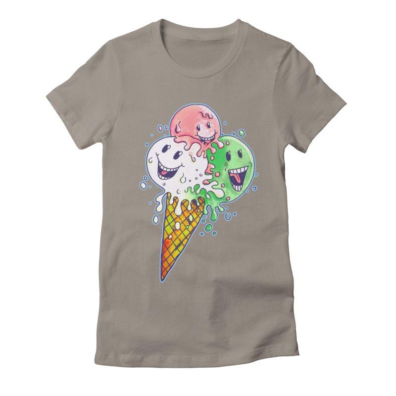 Ice Cream Tee Women's T-Shirt by miskel's Shop
