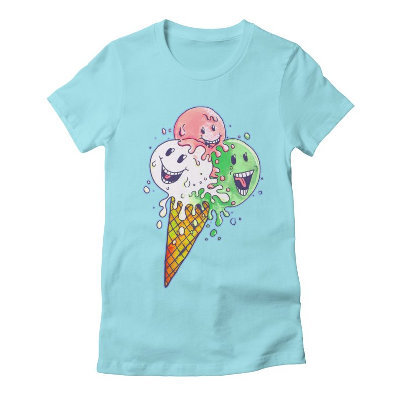 Ice Cream Tee Women's T-Shirt by miskel's Shop