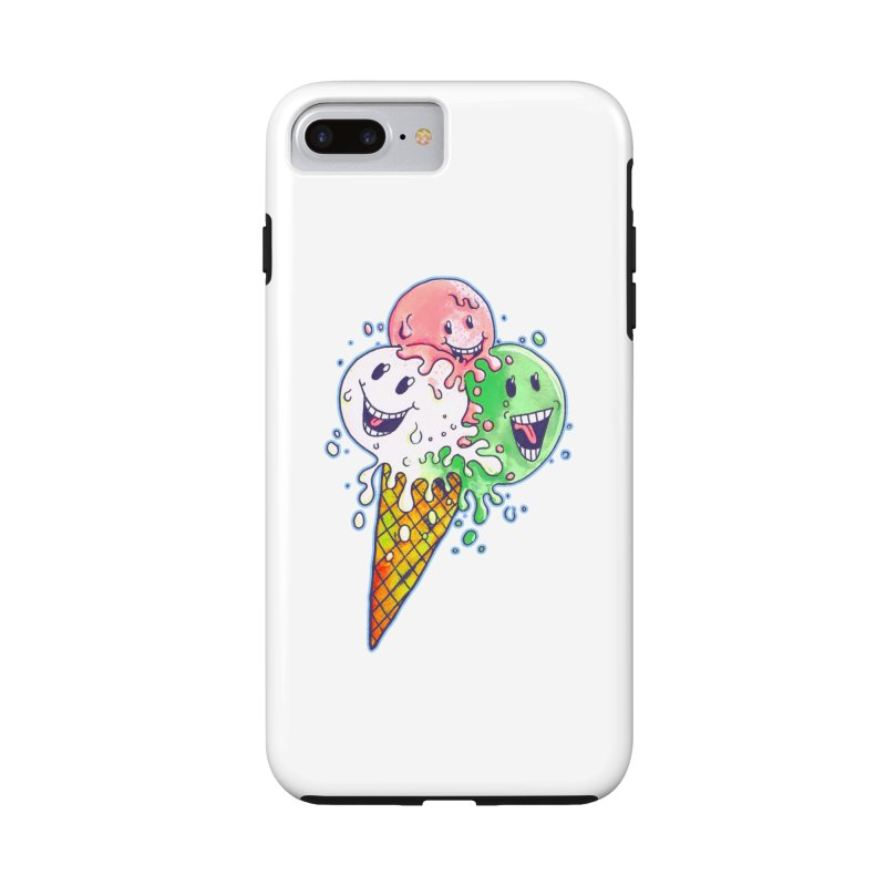 Ice Cream Tee Accessories Phone Case by miskel's Shop