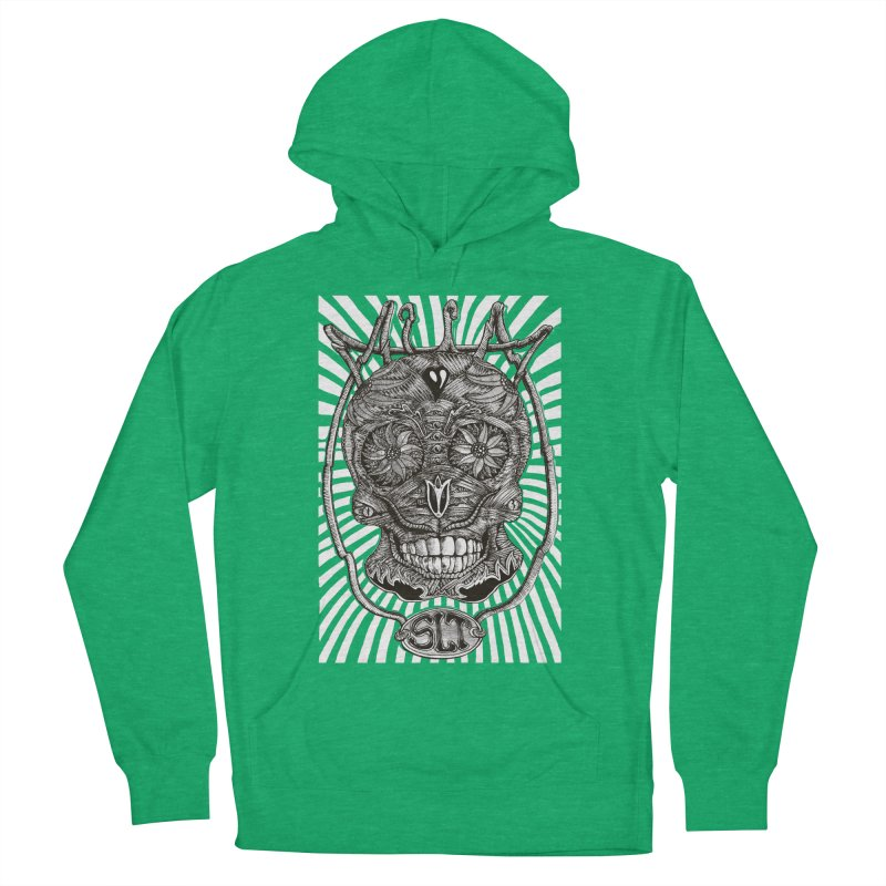 Skull MuM Classic  Women's French Terry Pullover Hoody by miskel's Shop