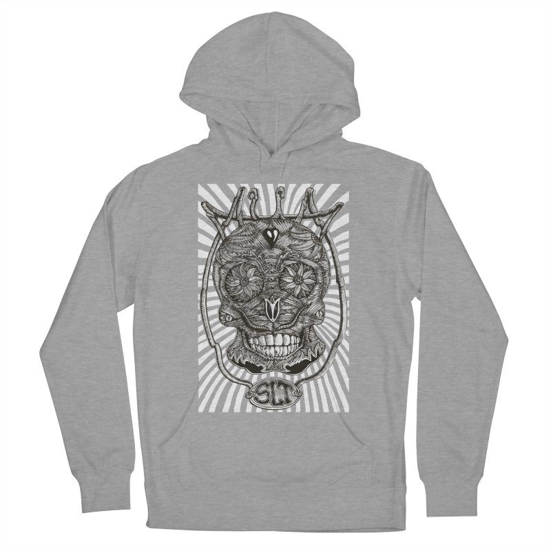 Skull MuM Classic  Men's French Terry Pullover Hoody by miskel's Shop