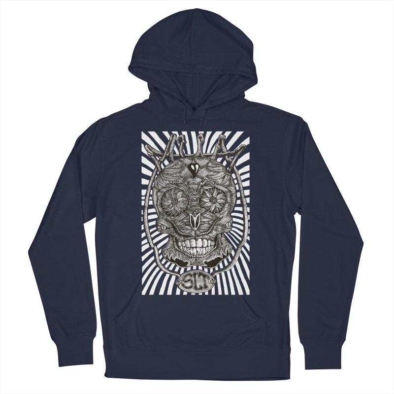 Skull MuM Classic  Men's Pullover Hoody by miskel's Shop