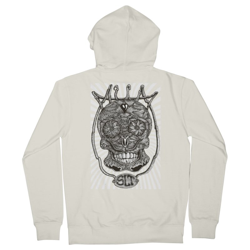 Skull MuM Classic  Women's Zip-Up Hoody by miskel's Shop