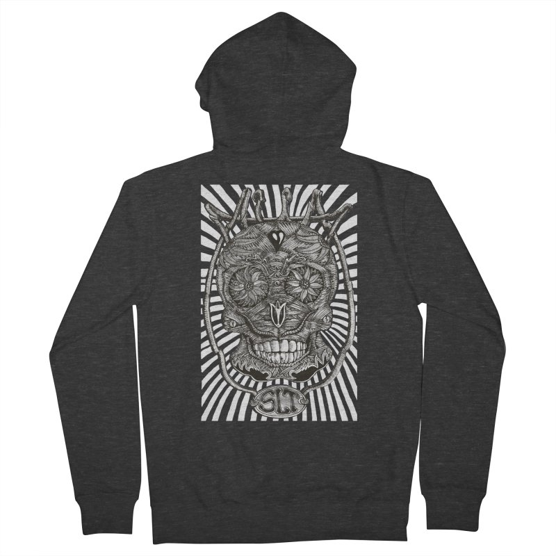Skull MuM Classic  Men's Zip-Up Hoody by miskel's Shop