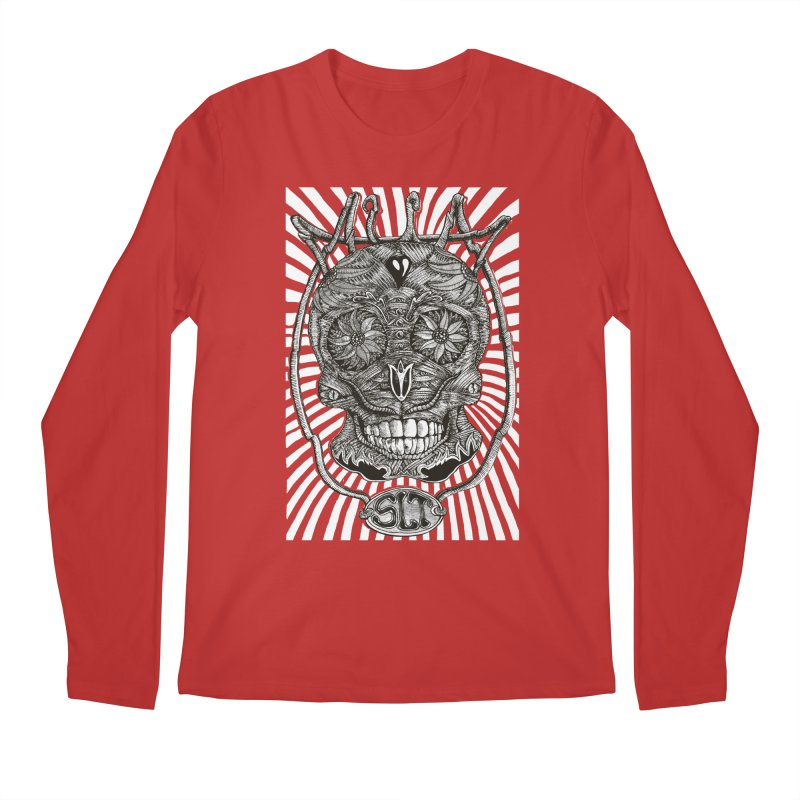 Skull MuM Classic  Men's Regular Longsleeve T-Shirt by miskel's Shop
