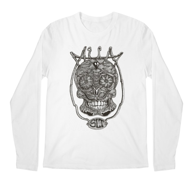 Skull MuM Classic  Men's Longsleeve T-Shirt by miskel's Shop