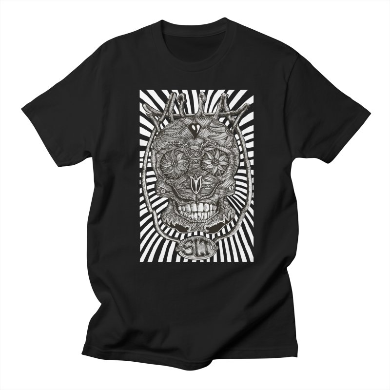 Skull MuM Classic  Men's T-Shirt by miskel's Shop