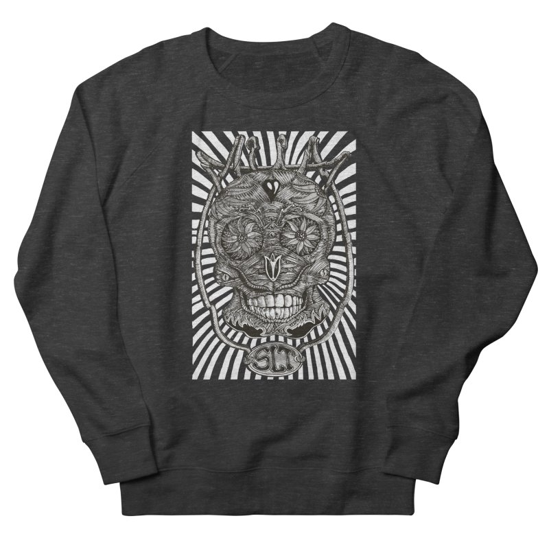Skull MuM Classic  Women's French Terry Sweatshirt by miskel's Shop