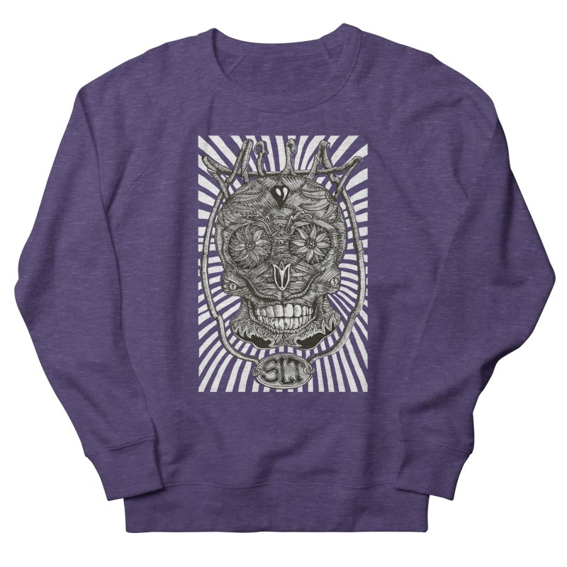 Skull MuM Classic  Men's French Terry Sweatshirt by miskel's Shop