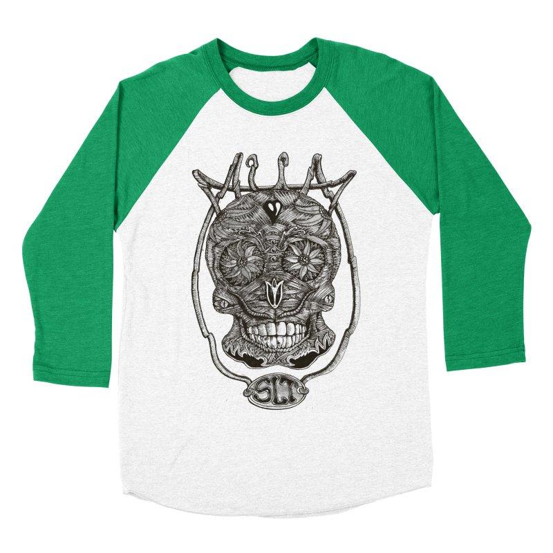 Skull MuM Classic  Women's Baseball Triblend T-Shirt by miskel's Shop