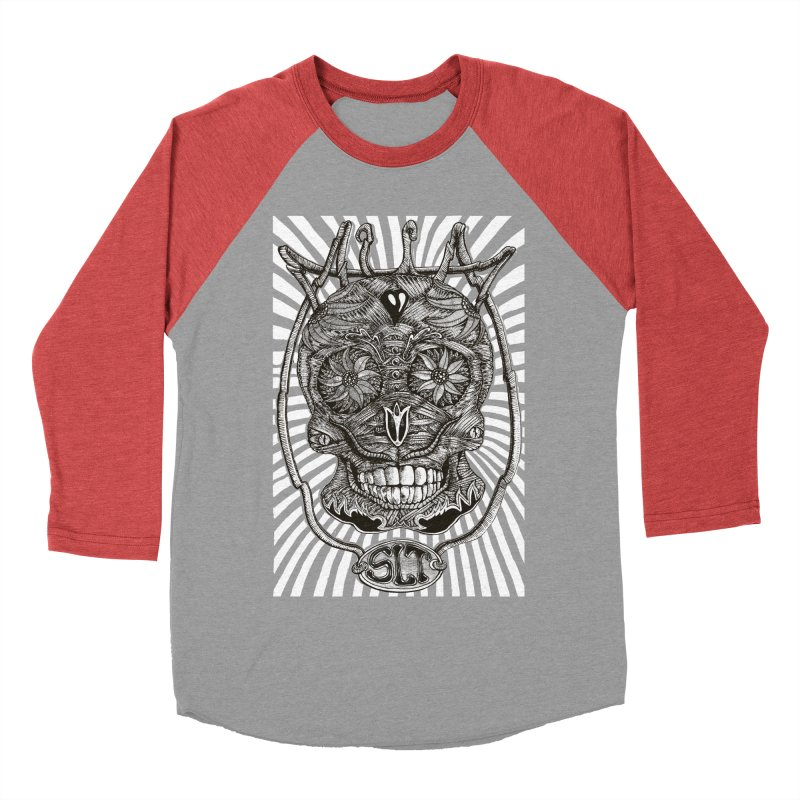 Skull MuM Classic  Women's Baseball Triblend Longsleeve T-Shirt by miskel's Shop