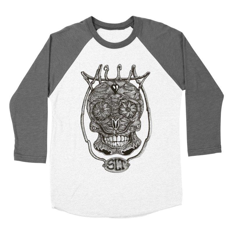 Skull MuM Classic  Men's Baseball Triblend Longsleeve T-Shirt by miskel's Shop