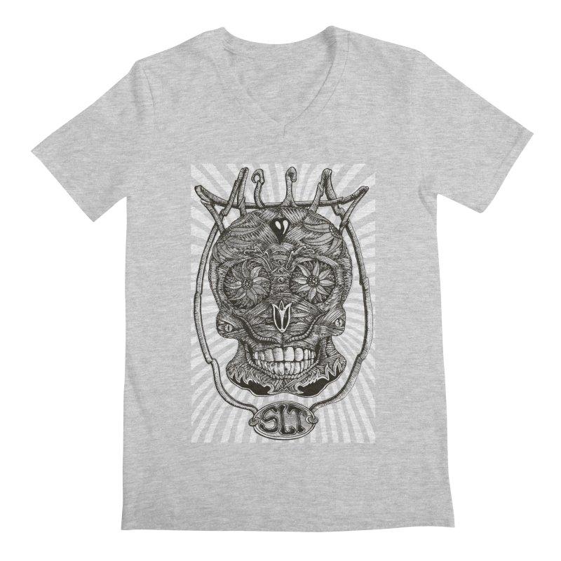 Skull MuM Classic  Men's V-Neck by miskel's Shop