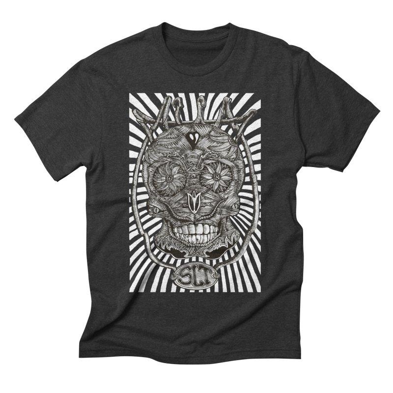 Skull MuM Classic  Men's Triblend T-shirt by miskel's Shop