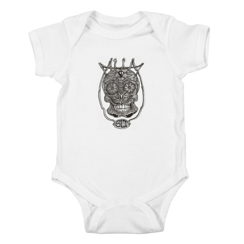 Skull MuM Classic  Kids Baby Bodysuit by miskel's Shop