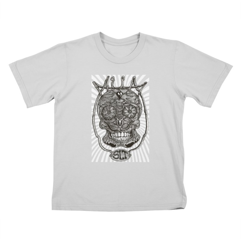 Skull MuM Classic  Kids T-Shirt by miskel's Shop