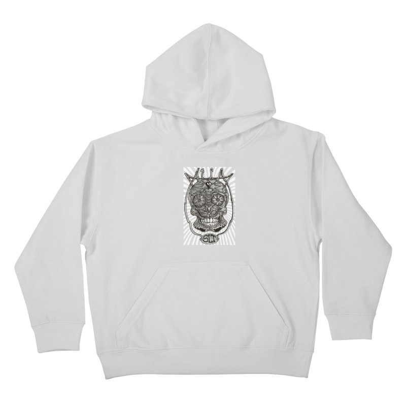 Skull MuM Classic  Kids Pullover Hoody by miskel's Shop