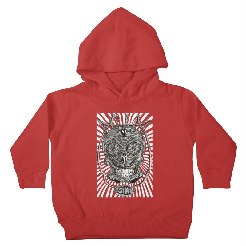 Skull MuM Classic  Kids Toddler Pullover Hoody by miskel's Shop