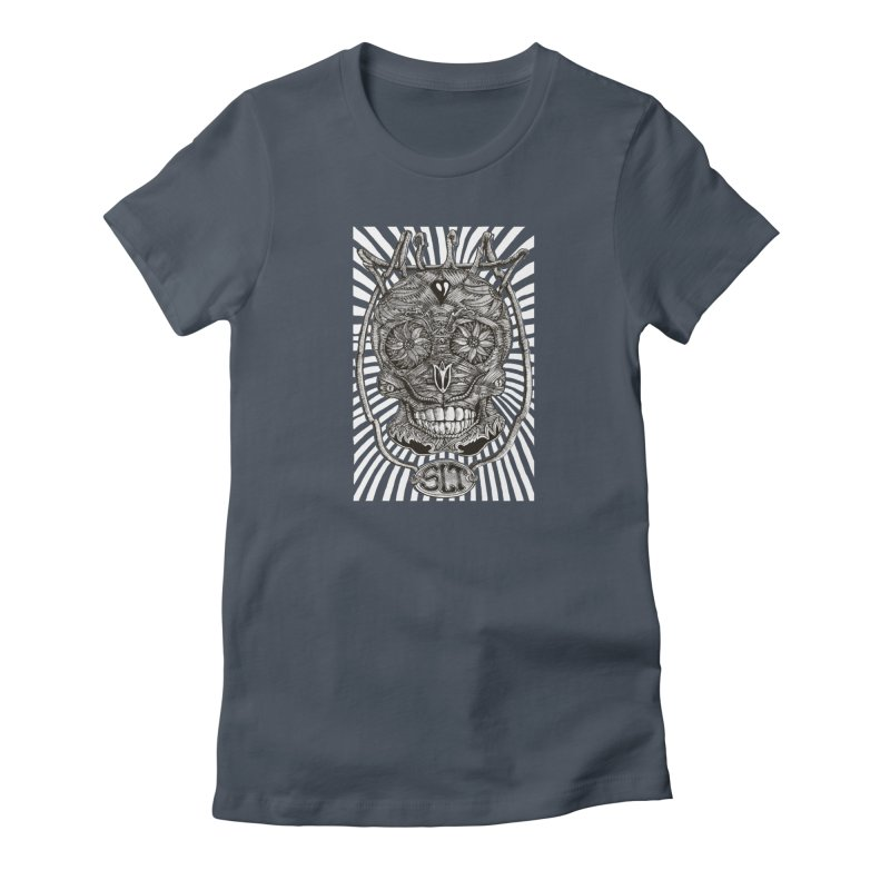Skull MuM Classic  Women's T-Shirt by miskel's Shop