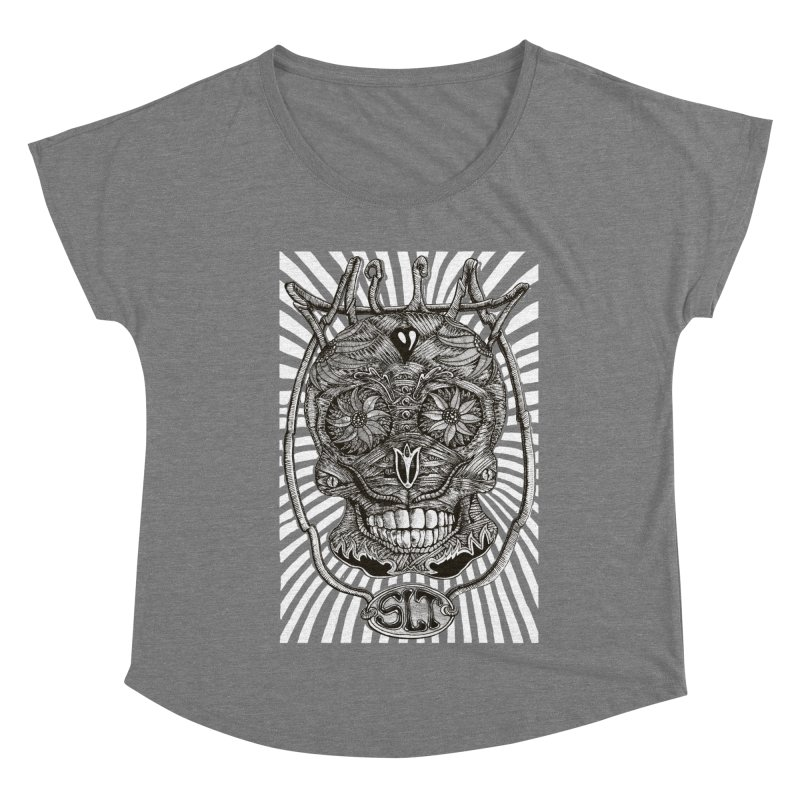 Skull MuM Classic  Women's Scoop Neck by miskel's Shop