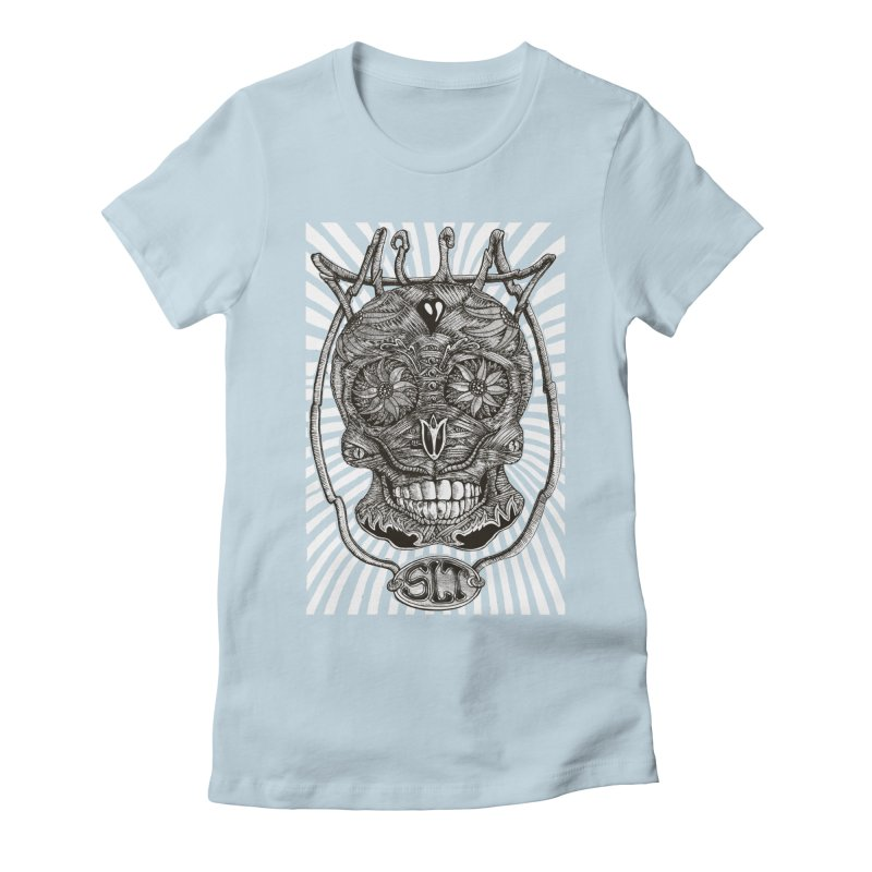 Skull MuM Classic  Women's T-Shirt by miskel's Shop