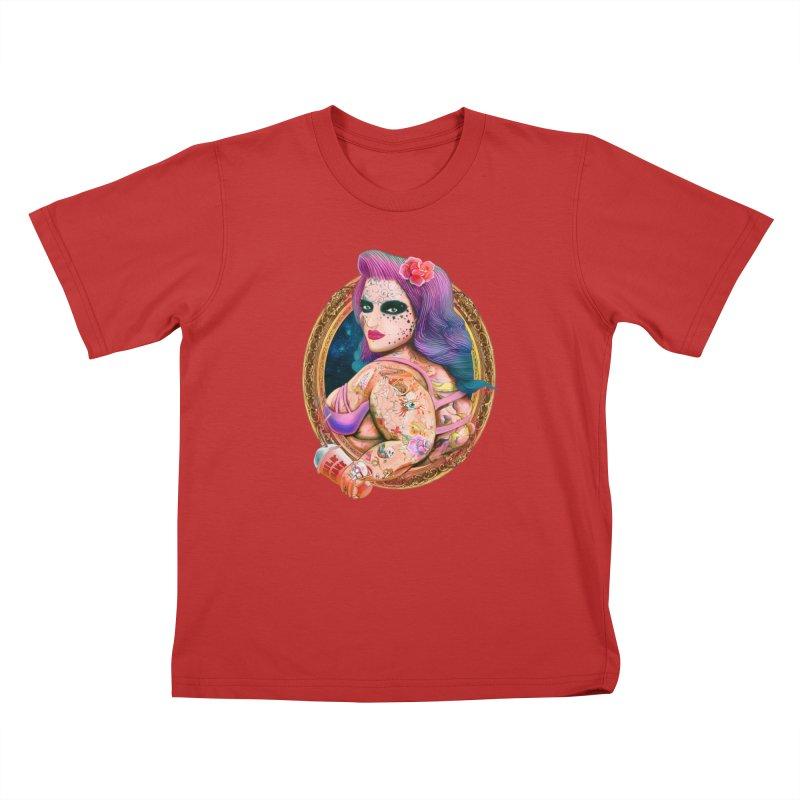 Milkshake! Kids T-Shirt by miskel's Shop
