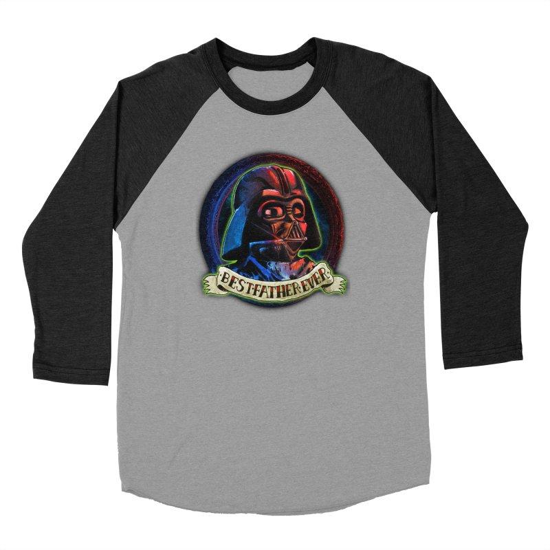 Best Father Ever Women's Baseball Triblend Longsleeve T-Shirt by miskel's Shop