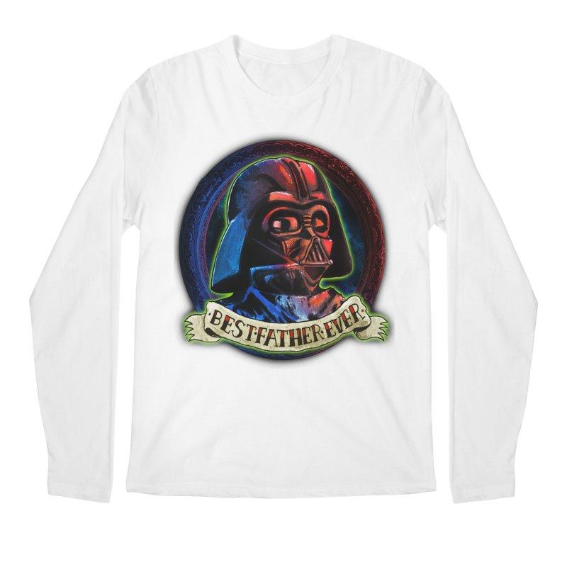 Best Father Ever Men's Regular Longsleeve T-Shirt by miskel's Shop